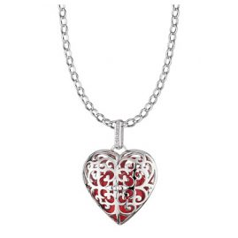 Engelsrufer 79190 Silver Necklace With Sound-Heart