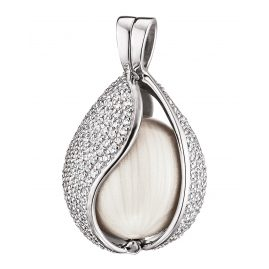 Engelsrufer ERP-20-TEAR-BIZI-M Pendant Tear of Heaven Zirconia Silver