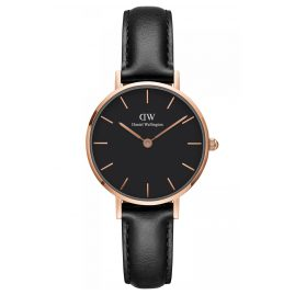 Daniel Wellington DW00100224 Ladies Watch Classic Petite Sheffield Black 28
