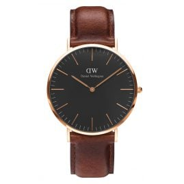Daniel Wellington DW00100124 Herrenuhr St Mawes Rose Gold 40 mm