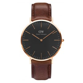 Daniel Wellington DW00100125 Herrenuhr Bristol Rose Gold 40 mm