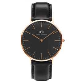 Daniel Wellington DW00100127 Herrenuhr Sheffield Rose Gold 40 mm