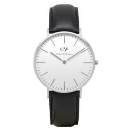 Daniel Wellington DW00100053 Sheffield Silver Damenuhr 36 mm