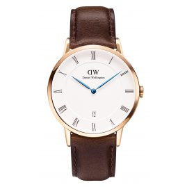 Daniel Wellington DW00100086 Dapper Bristol Rose Gold Watch 38 mm