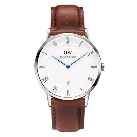 Daniel Wellington DW00100087 Dapper St. Mawes Silver Uhr 38 mm