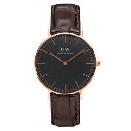 Daniel Wellington DW00100140 Damenuhr York Rose Gold 36 mm