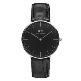 Daniel Wellington DW00100147 Damenuhr Reading Silber 36 mm