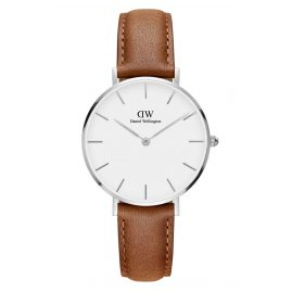 Daniel Wellington DW00100184 Ladies Watch Classic Petite Durham White/Silver 32 mm