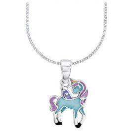 Prinzessin Lillifee 2013161 Einhorn Blue Kinder-Halskette