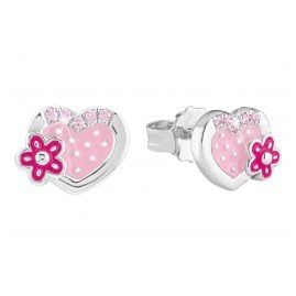 Prinzessin Lillifee 2021033 Silber-Ohrringe für Mädchen