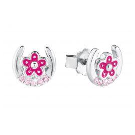 Prinzessin Lillifee 2021005 Kinder-Ohrringe Hufeisen mit Blume