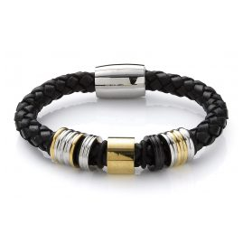 Survive 821156 Mens Leather Bracelet