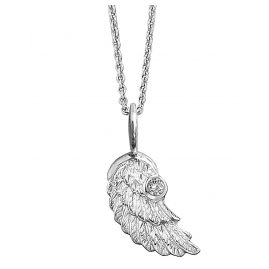 Herzengel HEN-WING-01-ZI Wing Childrens Necklace