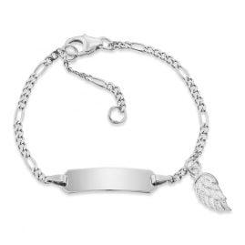 Herzengel HEB-ID-WING Kinder ID-Armband mit Flügel