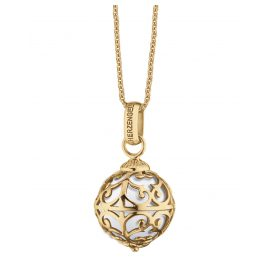 Herzengel HEN-ANGEL-G9K Kinder-Halskette Engelsrufer Gold