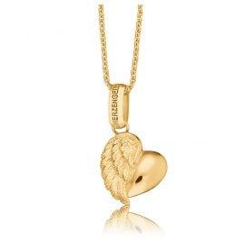 Herzengel HEN-HEARTWING-G9K Kinderkette mit Herz-Flügel