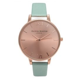 Olivia Burton OB15BD75 Mint & Rose Gold Damenuhr