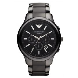 Emporio Armani AR1451 Ceramica Chrono Mens Watch