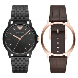 Emporio Armani AR80021 Watch Set for Men