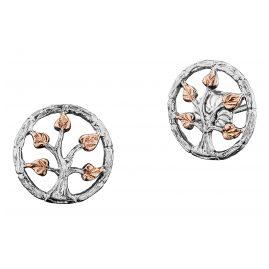 Julie Julsen JJER0255.8 Silber Ohrringe Lebensbaum