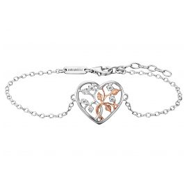 Julie Julsen JJBR0505.8 Ladies' Bracelet Tree of Life Heart