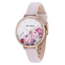 Julie Julsen JJW11RGL-2 Ladies Wristwatch Flower Rosé Light Pink
