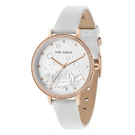 Julie Julsen JJW51RGL-9 Ladies' Watch with Leather Strap