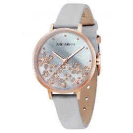 Julie Julsen JJW80RGL-8 Ladies' Watch Blossom Rose-Tone/Grey