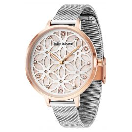 Julie Julsen JJW104RGSME Women's Watch with 3-D Dial