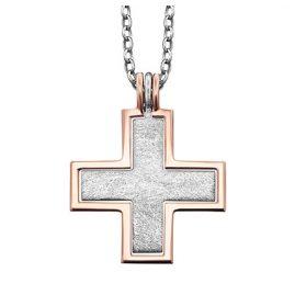 Julie Julsen JJNE0298.4 Silber Damen-Halskette Kreuz