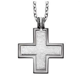 Julie Julsen JJNE0298.8 Silber Damen-Halskette mit Kreuz