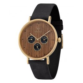 Kerbholz Mens Watch Caspar Gold Edition