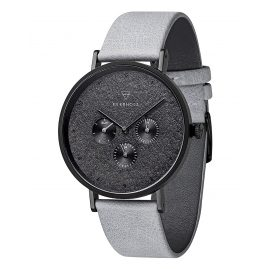 Kerbholz Mens Multifunction Watch Caspar Dark Slate
