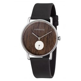Kerbholz Wooden Ladies' Watch Frida Walnut/Midnight Black