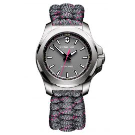 Victorinox 241771 I.N.O.X. V Ladies Watch Grey with Paracord Strap
