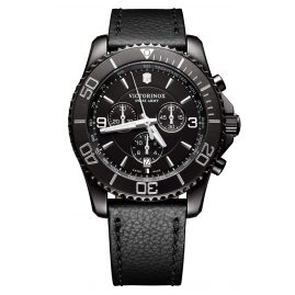 Victorinox 241786 Maverick Chronograph Black Edition Herrenuhr