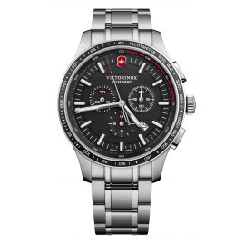 Victorinox 241816 Men's Watch Alliance Sport Chronograph Black