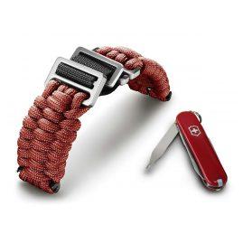Victorinox 60024 I.N.O.X Paracord Armband Rot