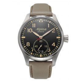 Alpina AL-280BGR4S6 Startimer Pilot Big Date Mens Watch