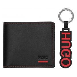 Hugo 50403061 Gift Set Men's Wallet Black