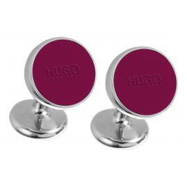 Hugo 50289289 E-Color Manschettenknöpfe Rot