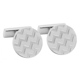 Hugo 50327095 E-Chevron Cufflinks