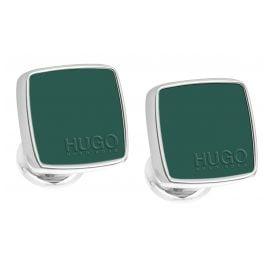 Hugo 50323072-320 E-Stain Manschettenknöpfe Grün