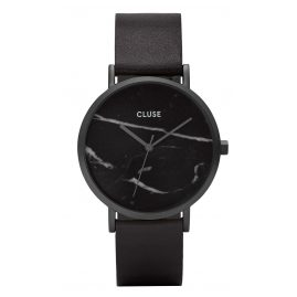 Cluse CL40001 La Roche Full Black Marble Armbanduhr