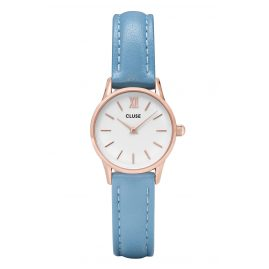 Cluse CL50026 Ladies Watch La Vedette Rose Gold White/Retro Blue