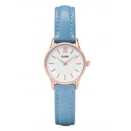 Cluse CL50026 Damenuhr La Vedette Rose Gold White/Retro Blue