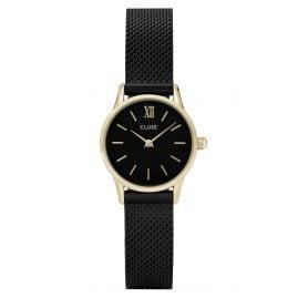 Cluse CL50023 Damenuhr La Vedette Mesh Gold Black/Black
