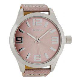 Oozoo C1008 XXL Watch Pink-Grey 51 mm