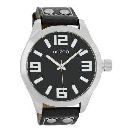 Oozoo C1054 XL Armbanduhr Schwarz 46 mm
