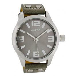 Oozoo C1057 XL Watch Grey 46 mm